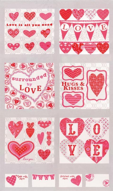 Surrounded By Love Panel Grey 19650 13