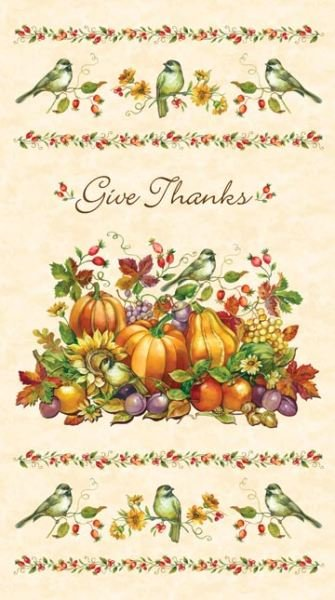 Give Thanks Panel Cream 20547-11