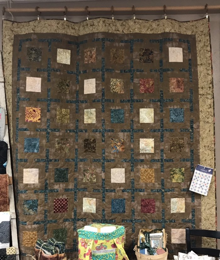 Linked Up Quilt 71 x 80.5  SOLD!!