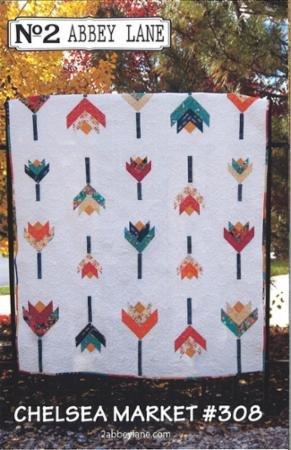 Chelsea Market Quilt Pattern 60 x 72