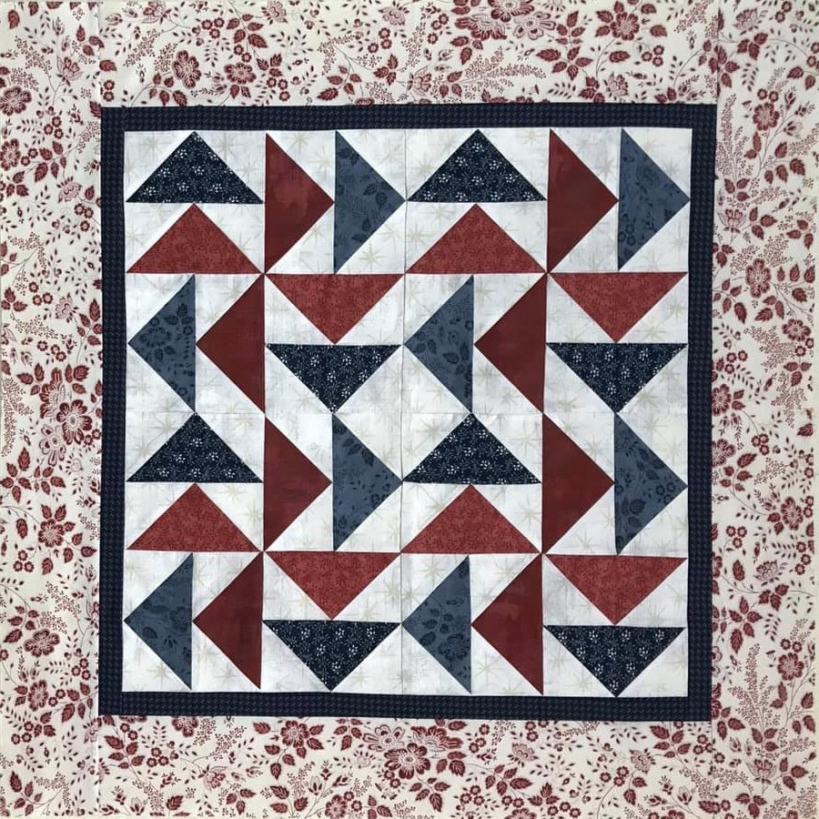 Flying Geese Quilt 34.5 x 34.5