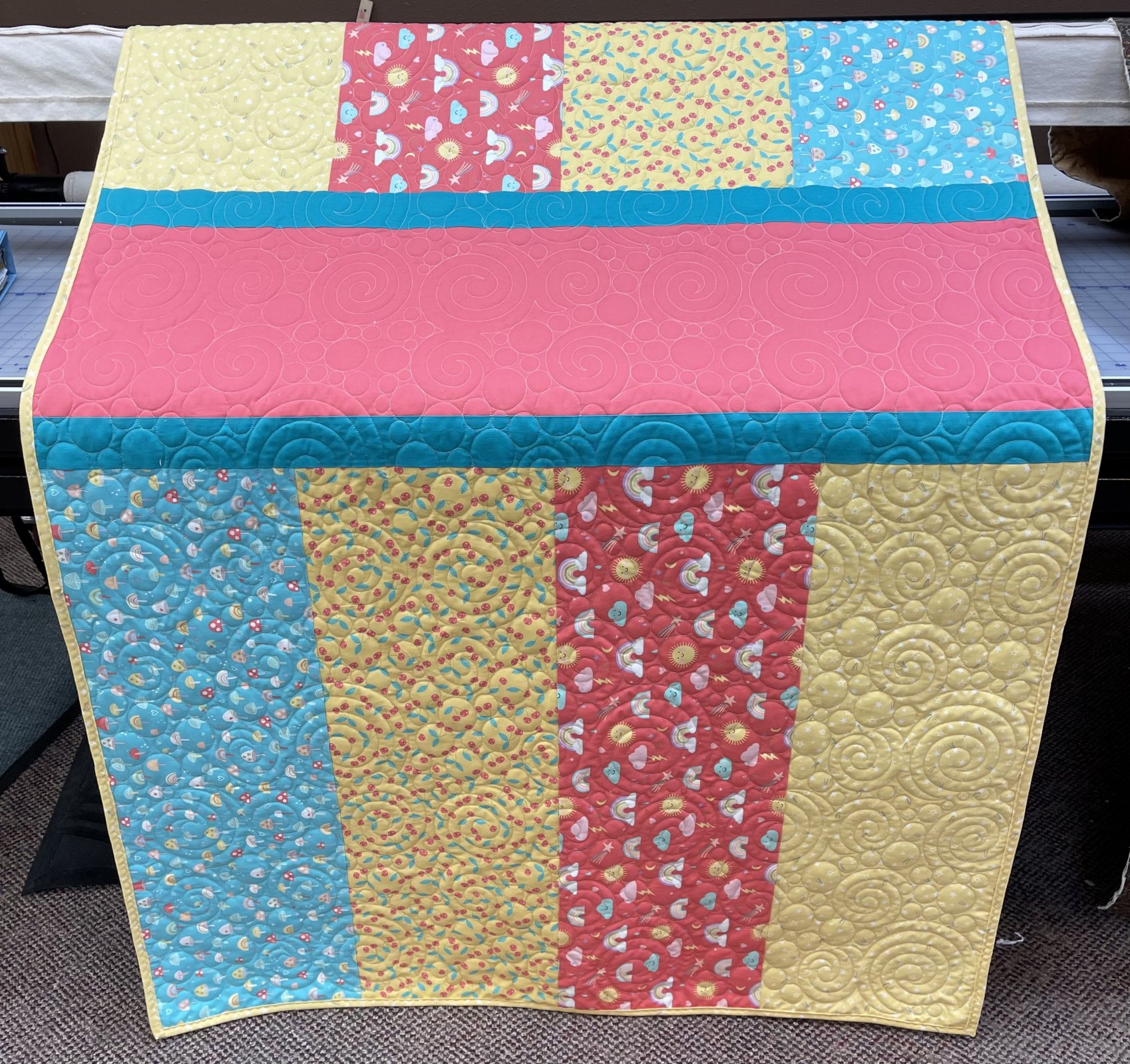 """Just for Laps Baby Quilt 40.5"""" x 54.5"""""""