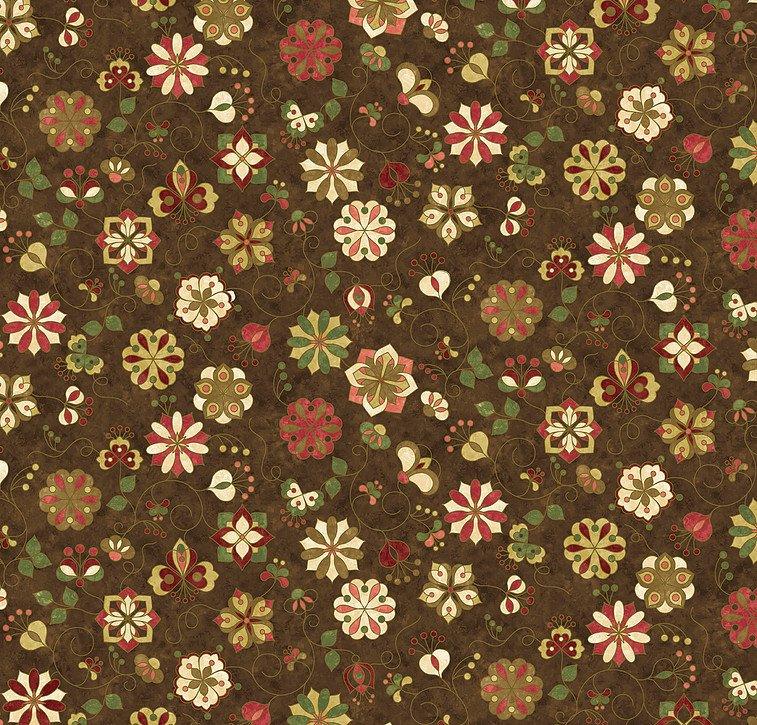 Mulberry Lane: Large Print on Chocolate 4644-36