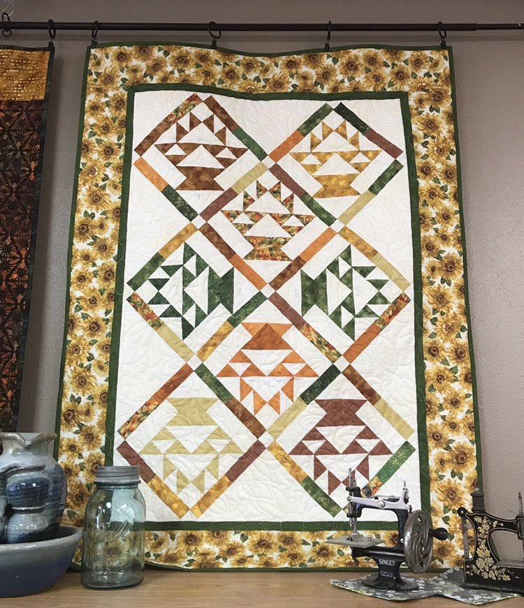 Basket of Blooms Quilt 34 x 46