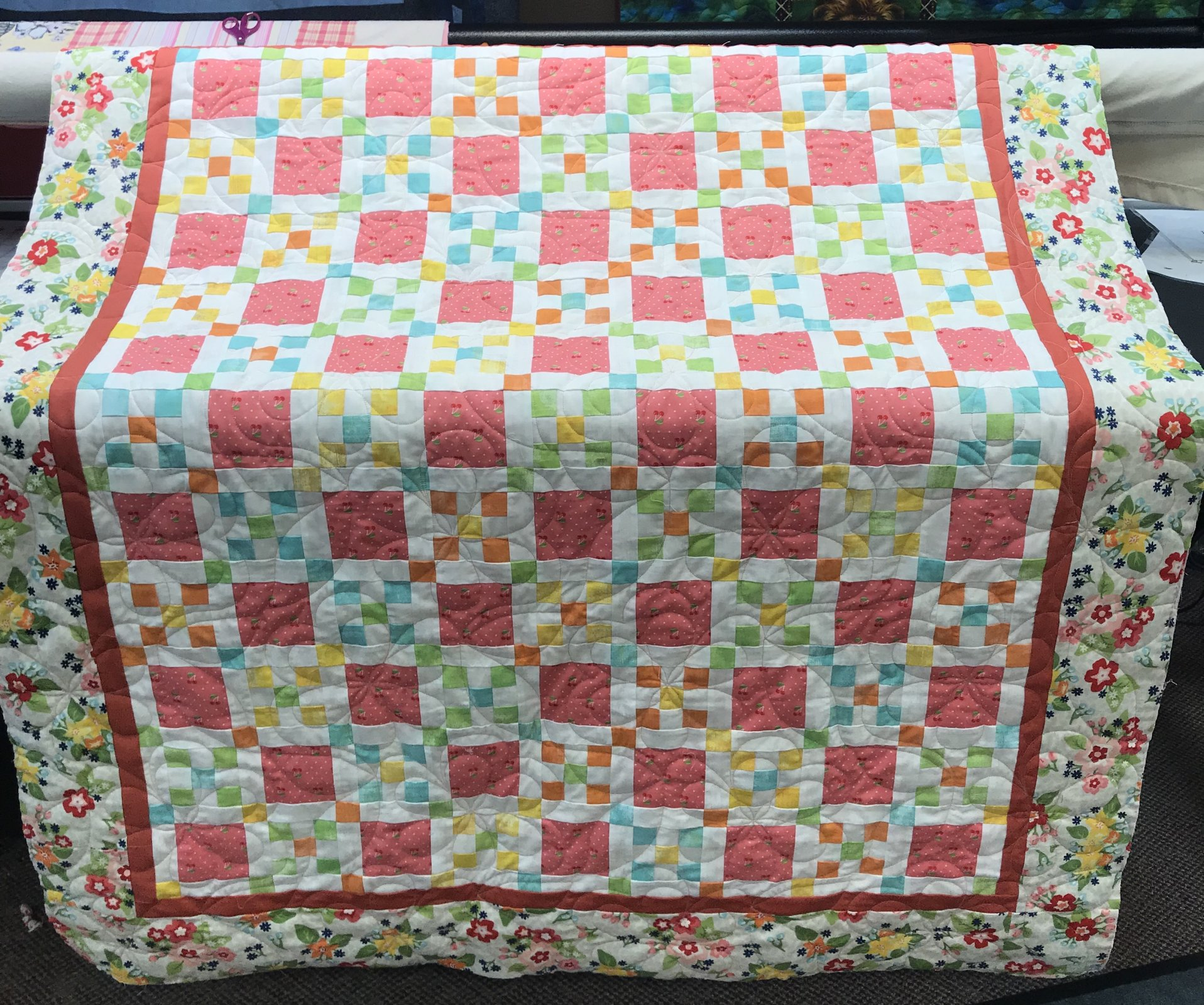 Enjoy the Little Things Lap Quilt 48.5 x 57.5