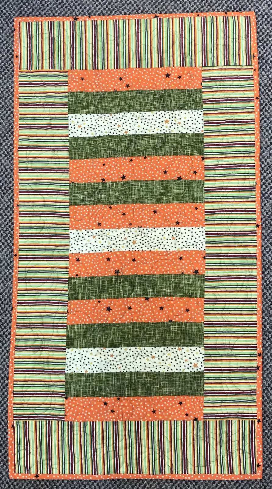 Fall Table Runner Sample 20 x 38