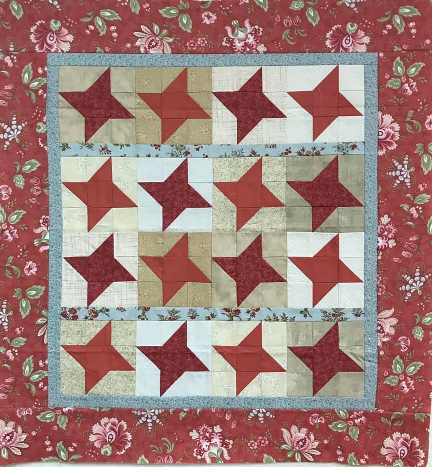 Friendship Star 34.5 x 36.5