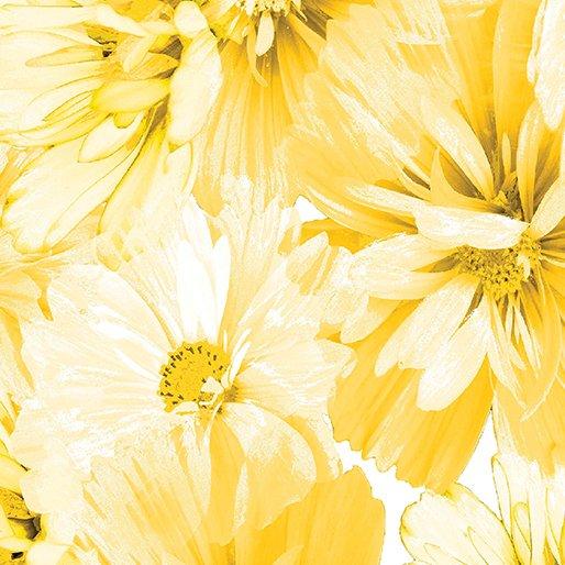 Limoncello Blossoms Yellow 7736P-33