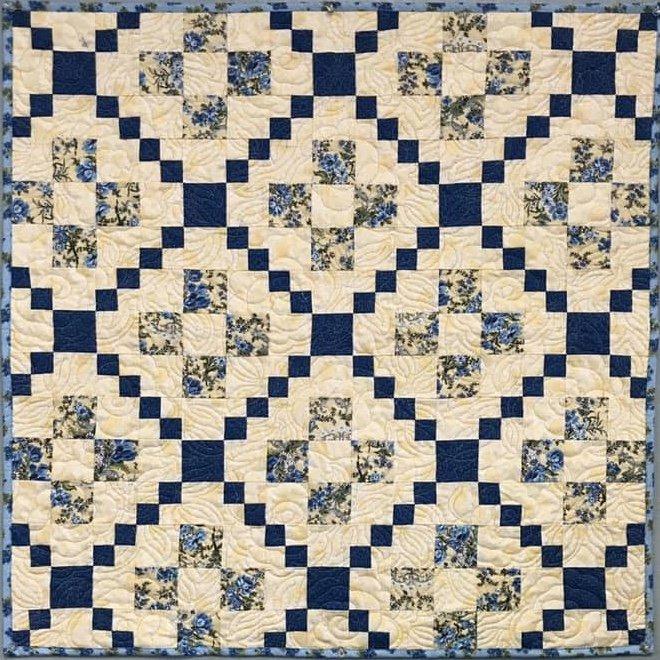 Nine-Patch Variation Quilt 30.5 x 30.5