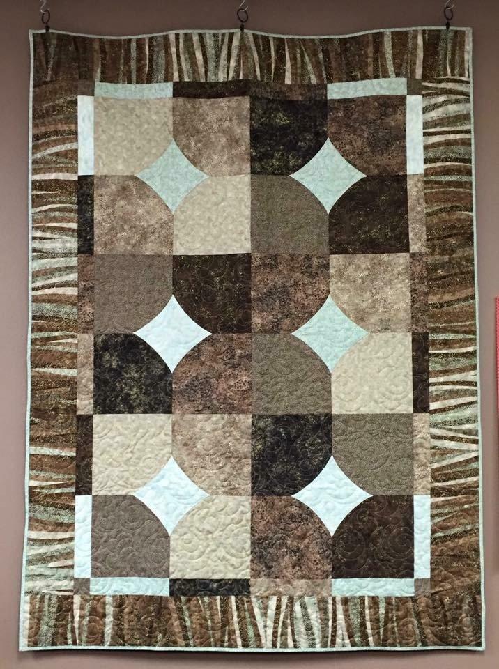 Artisan Shimmer 10' Quilt Block Quilt 53 x 72