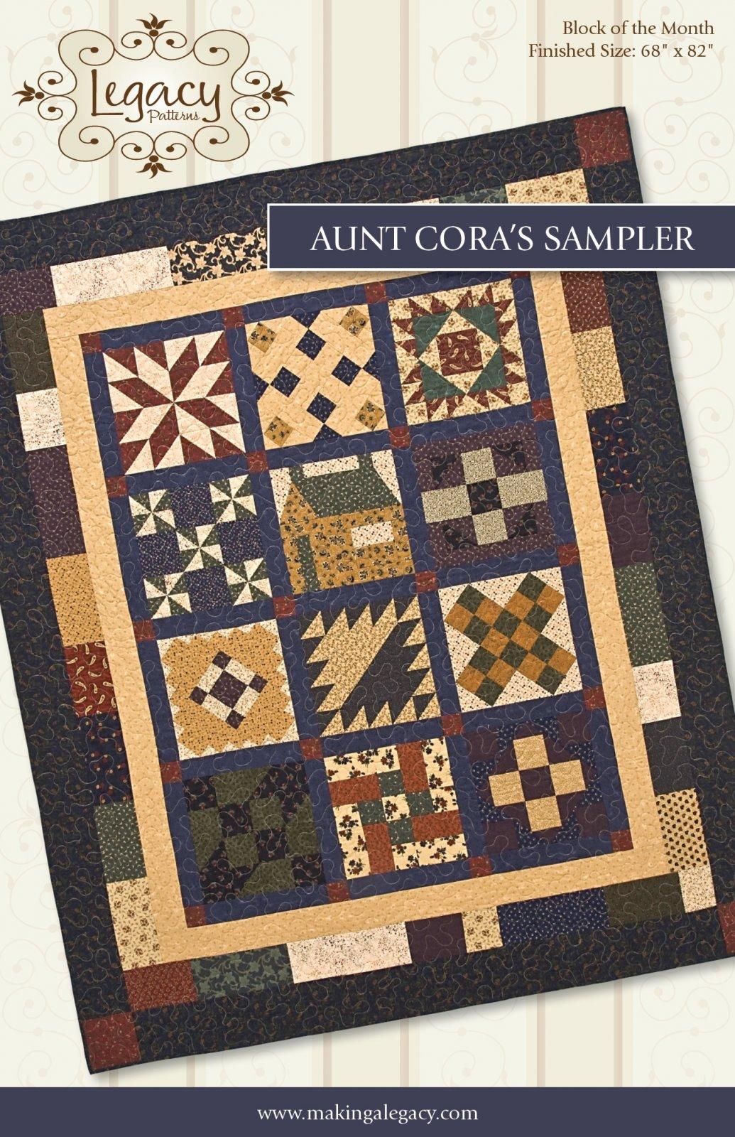 Aunt Cora's Sampler Pattern