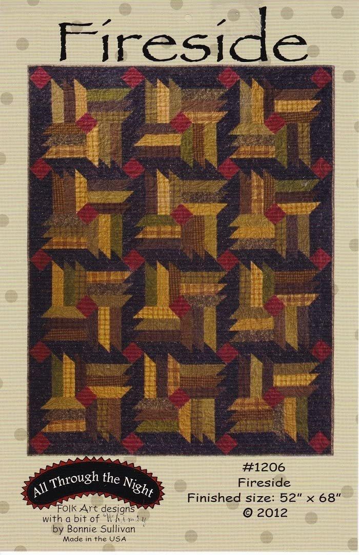 Fireside Quilt Pattern 52 x 68