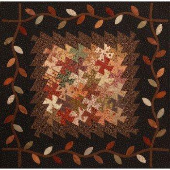 Autumn Pinwheels 23 x 23