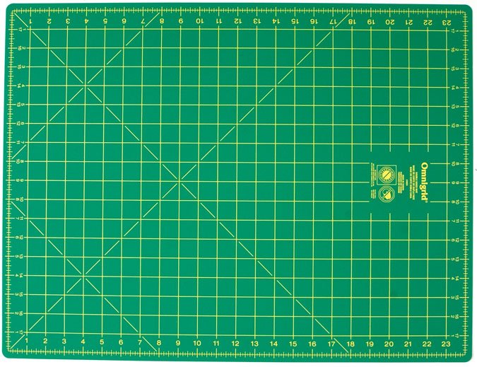 Omnigrid Rotary Cutting Mat 18 x 24 double-sided