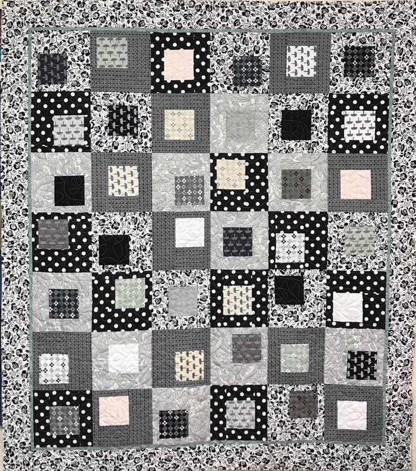 Lafayette Square Quilt 64 x 73