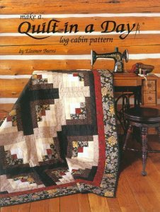 Eleanor Burns Log Cabin Make a Quilt In A Day