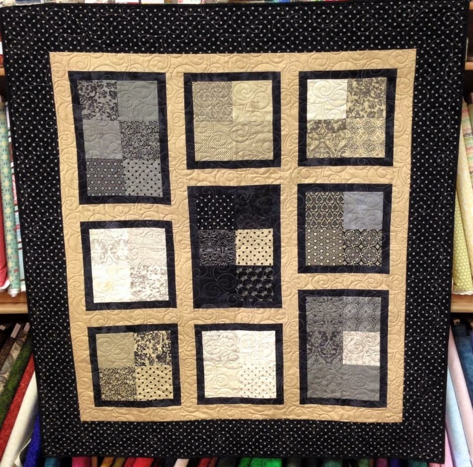 Little Black Dress Apple a Day Quilt SOLD!!