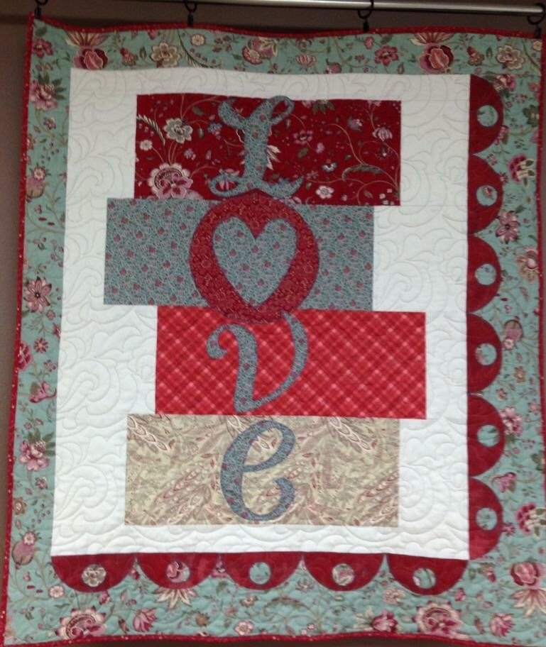 Love Wall Hanging 39 X 45 SOLD!!
