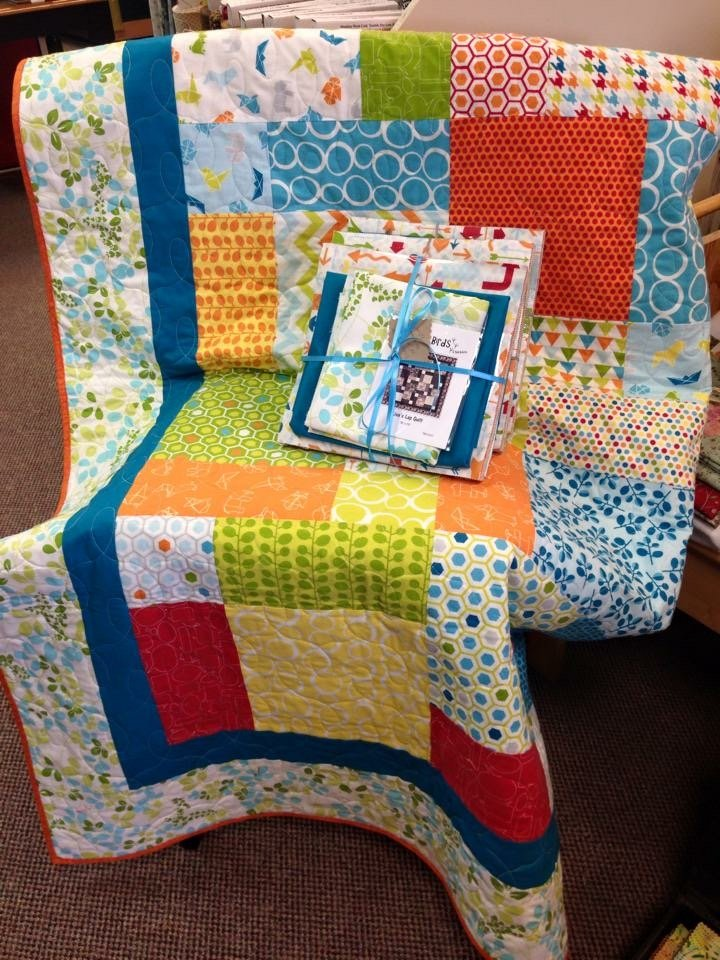 Lisa's Lap Quilt Mixed Bag 72 x 72