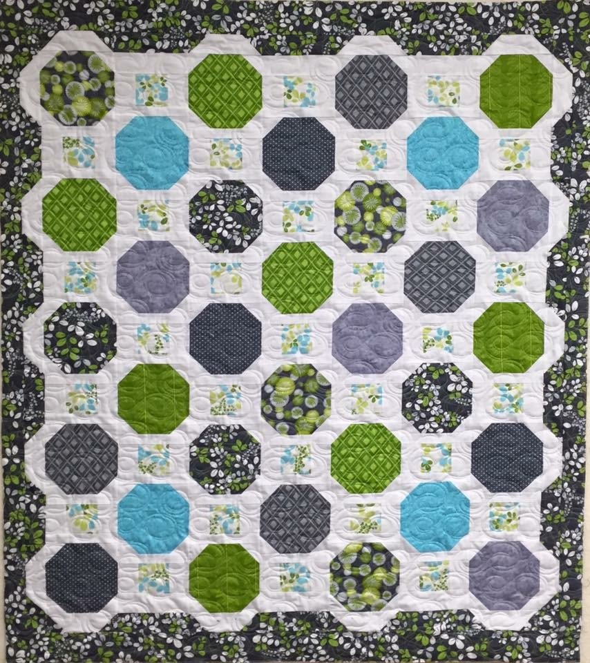 Marbles Quilt 57 x 65