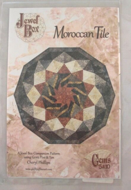 Moroccan Tile PTN 149-10 45 x 47