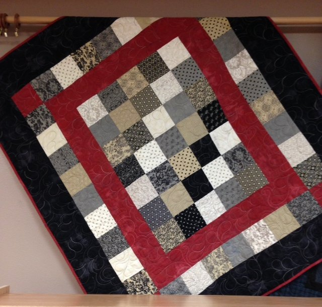 Little Black Dress Cedar Valley Quilt 54x63