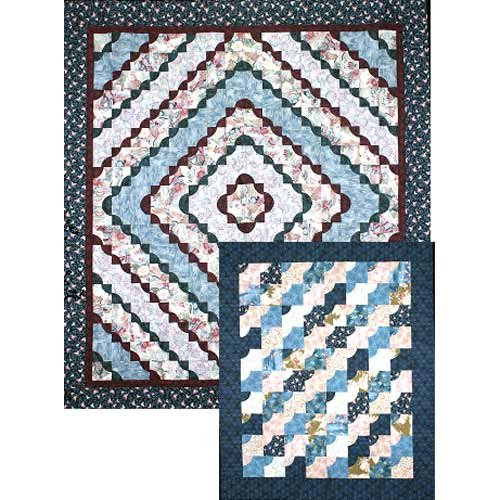 Road to Recovery Quilt Pattern 87.5 x 96.5