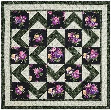 Walk About Quilt Pattern 4 sizes GGG WA