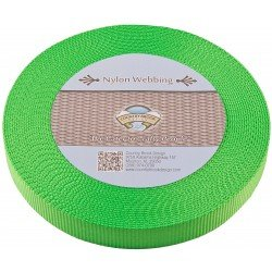 Country Brook Design Webbing Lime Green 10yd roll