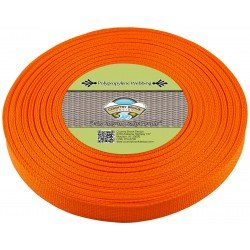Country Brook Design Webbing Orange 25yd Roll