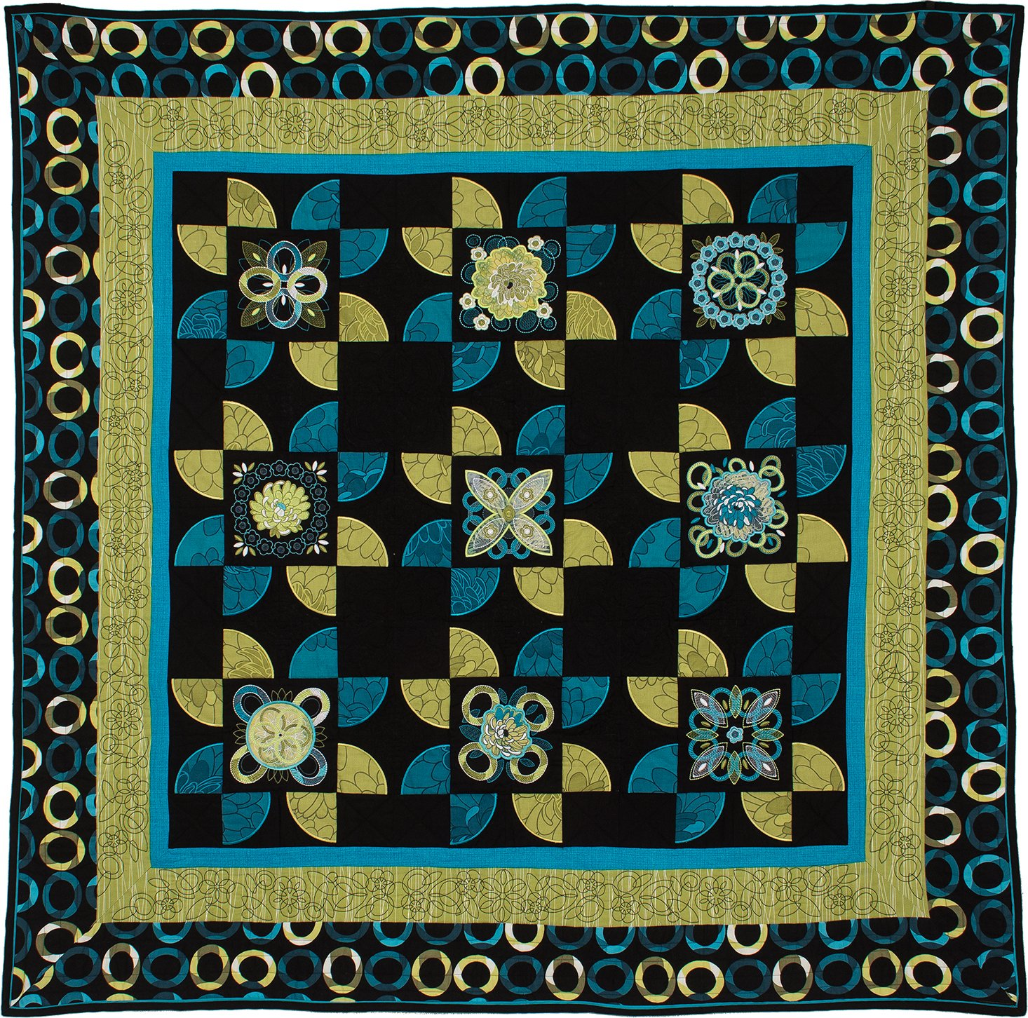 Oesd Embroidery Quilt Bom Fresh Bloom Class 2