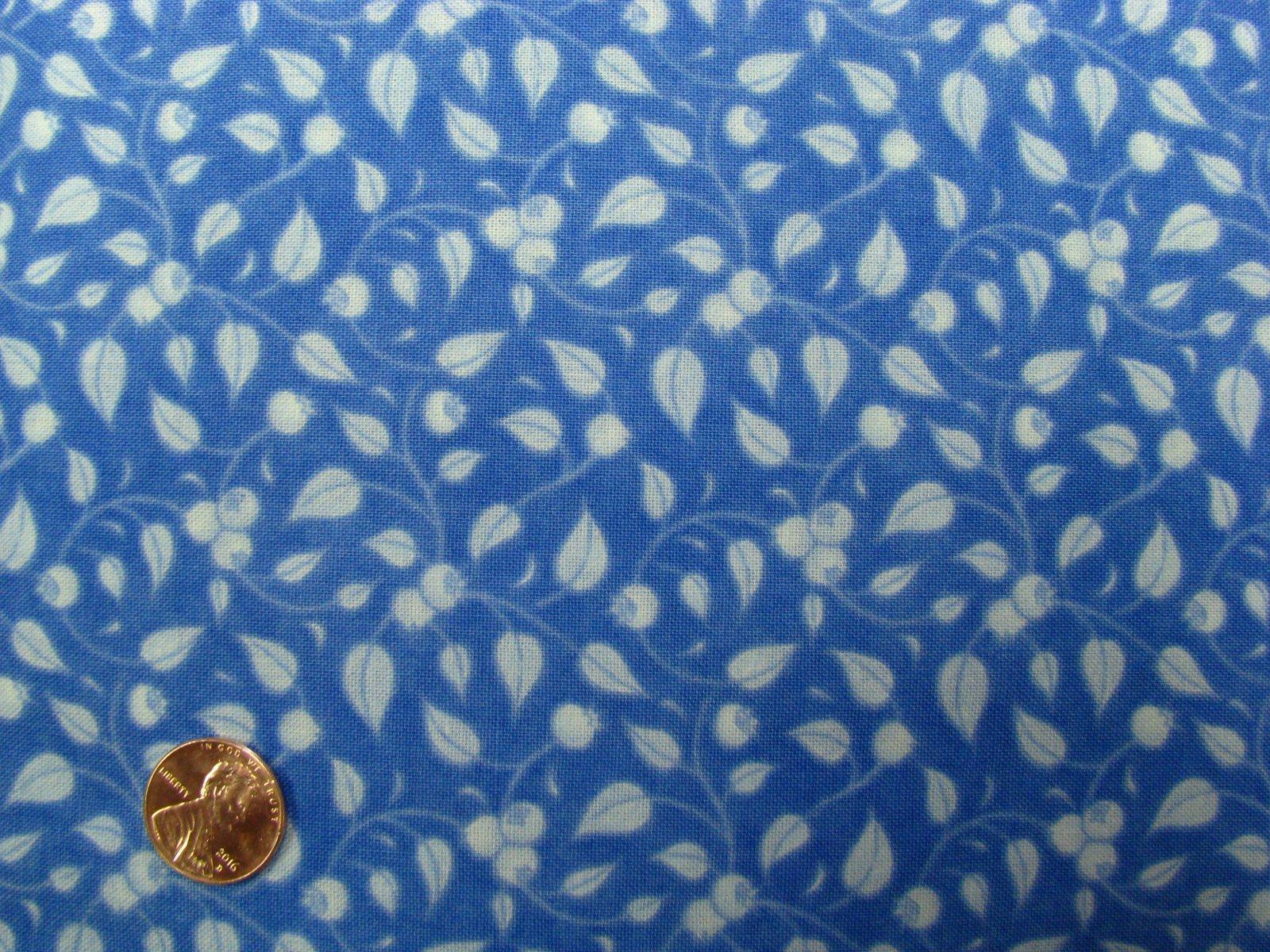Robert Kaufman Fresh Blueberries Cerulean