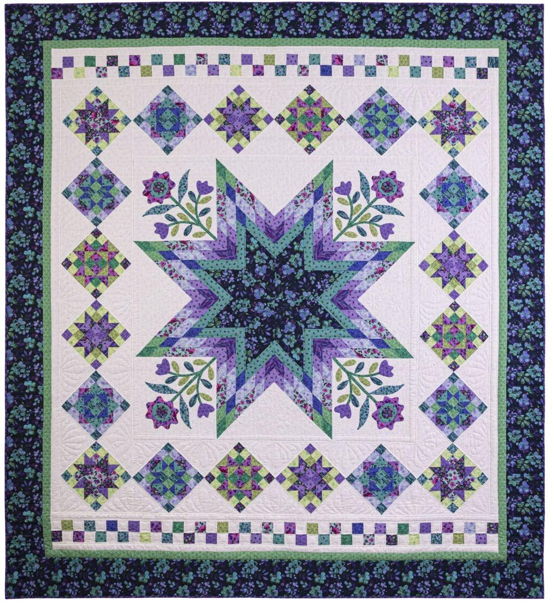 Harmony complete quilt kit