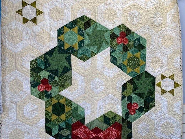 The Wreath Quilt Sampler KIT; Krista Moser