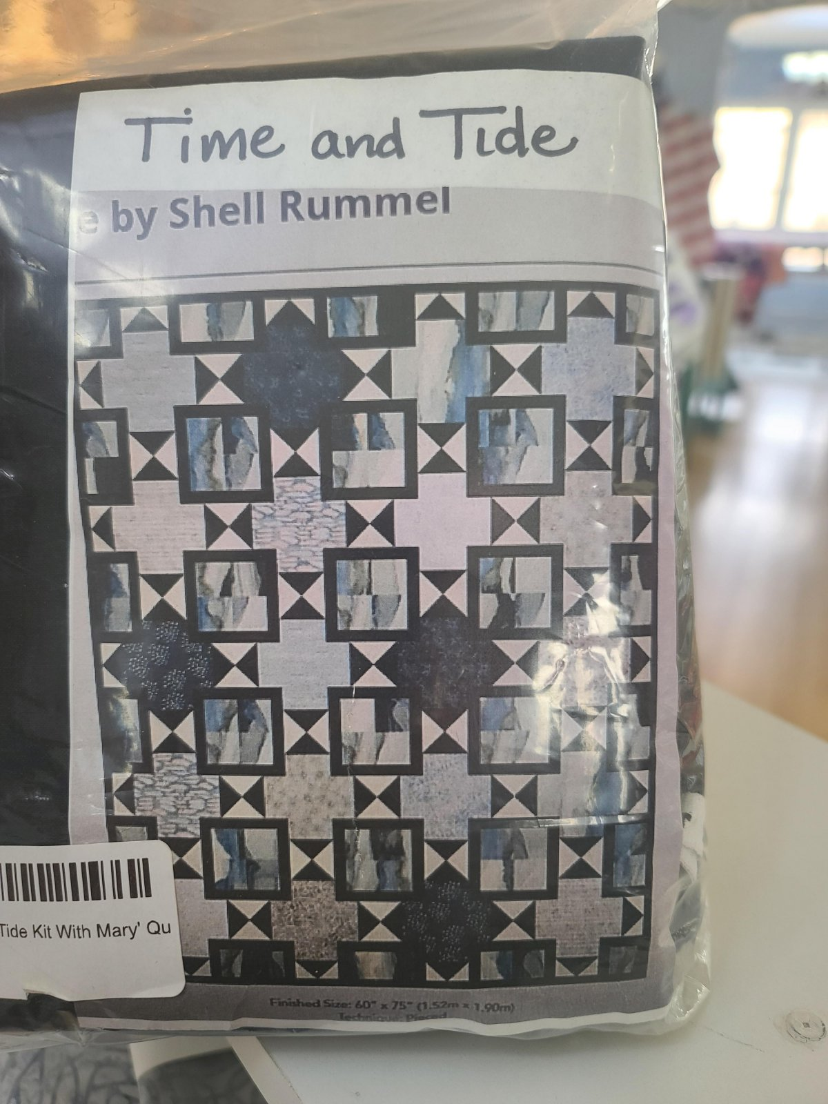 Time and Tide Kit With Mary' Quilt pattern