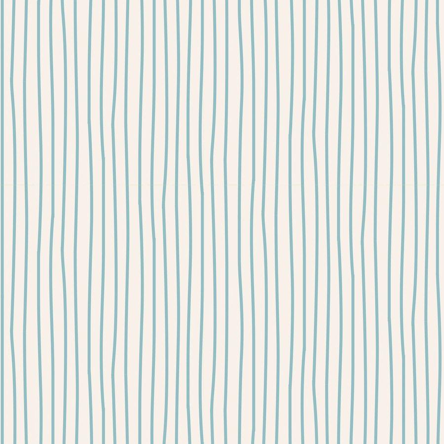 Basic Classic Pen Stripe Light Blue
