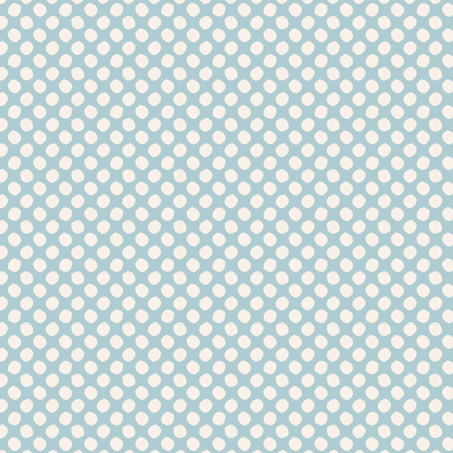 Basic Classic Paint Dots Light Blue