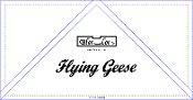 Bloc Loc 2x4 Geese