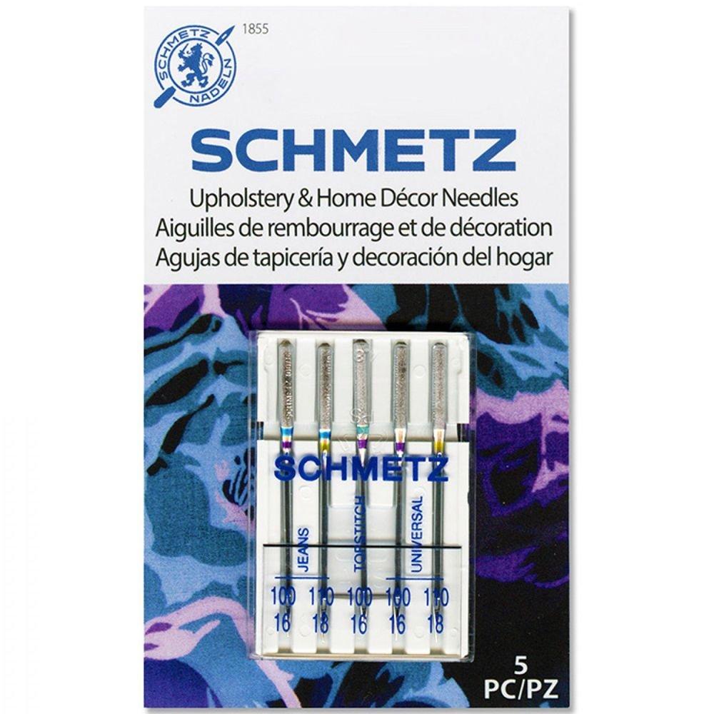 Schmetz Upholstery & Home Decor Needles 5 Pk