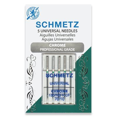 Schmetz Chrome Universal Needles 70/10
