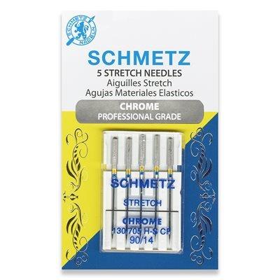 Schmetz Chrome Stretch Needles 90/14