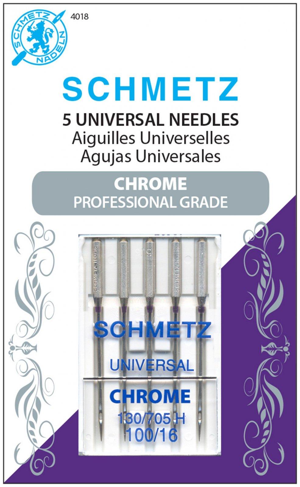 Schmetz Chrome Universal Needles100/16