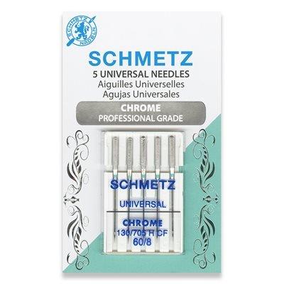 Schmetz Chrome Universal Needles 60/8