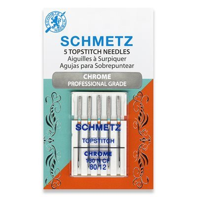 Schmetz Chrome Topstitch Needles 80/12