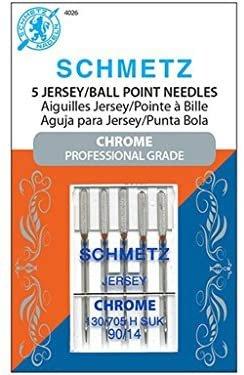 Schmetz Chrome Jersey Needles 90/14