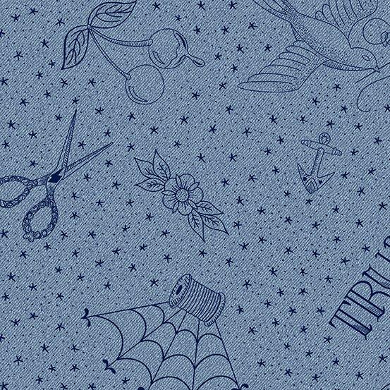 Almost Blue Draw by Libs Elliott
