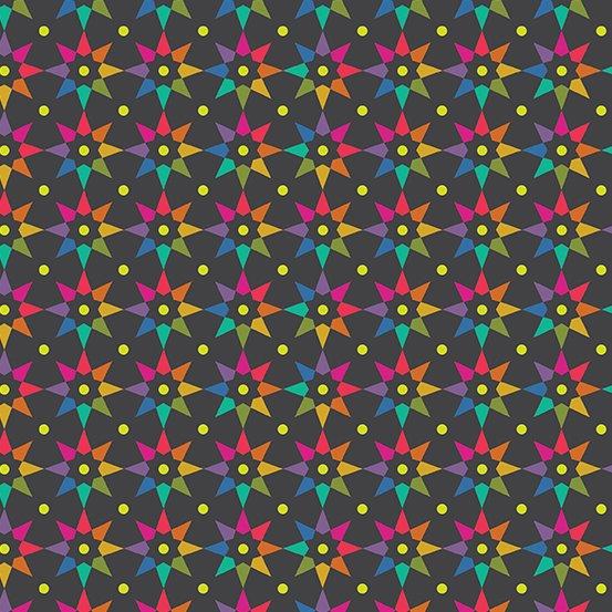 Art Theory Rainbow Star Dark by Alison Glass