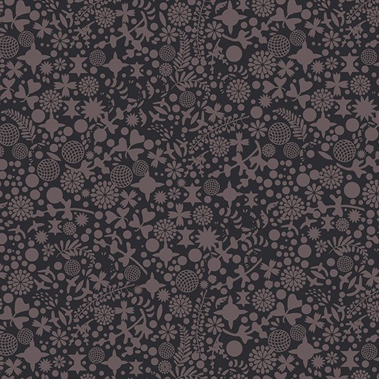 Art Theory Endpaper Dark by Alison Glass