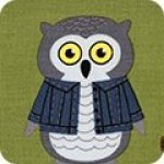 Campsite Critters Cotton panel