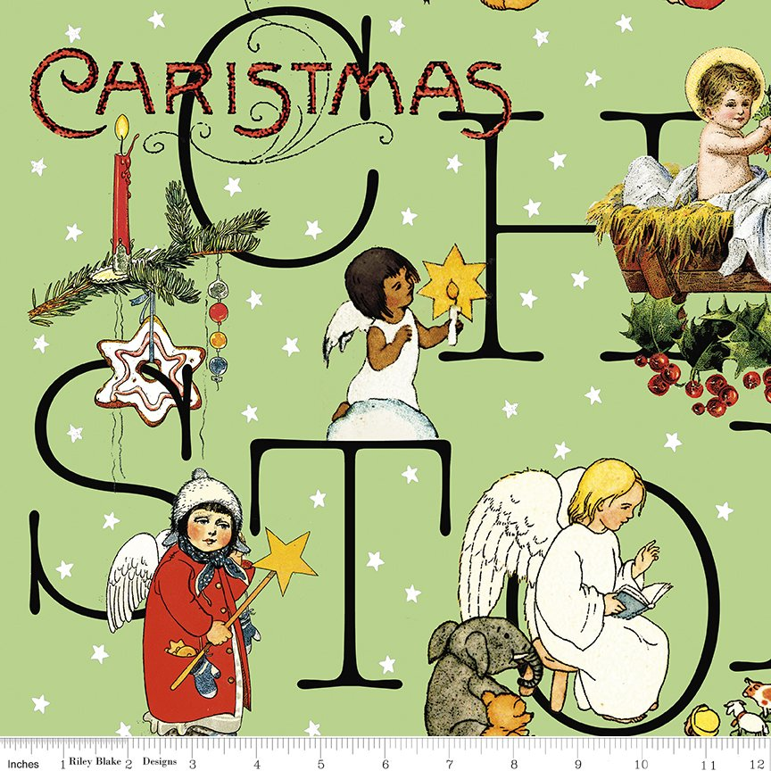 All About Christmas Story Green by Janet-Wecker Frish